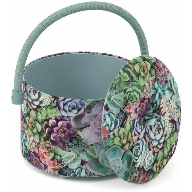 Ground Succulence Sewing Box