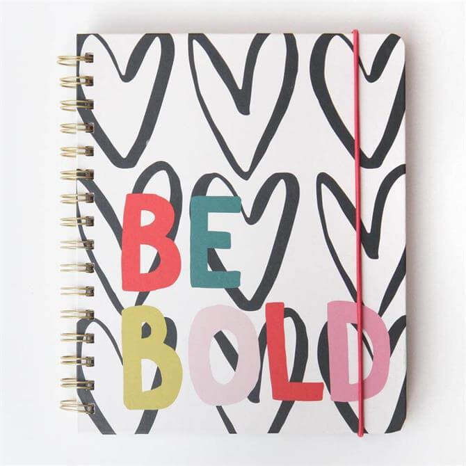 Hearts Be Bold Holiday Planner Journal