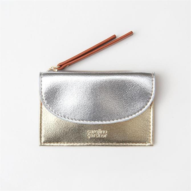 Caroline Gardner Gold / Silver Small Card Purse
