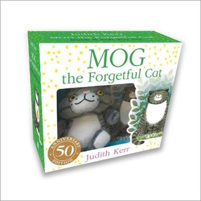 Mog the Forgetful Cat Book and Toy Gift Set - Judith Kerr