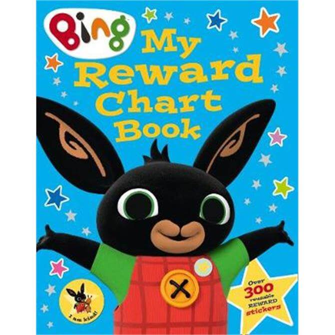 Bing My Reward Chart Sticker Activity Book (Bing) (Paperback)