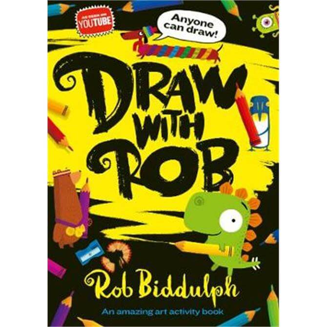Draw With Rob (Paperback) - Rob Biddulph