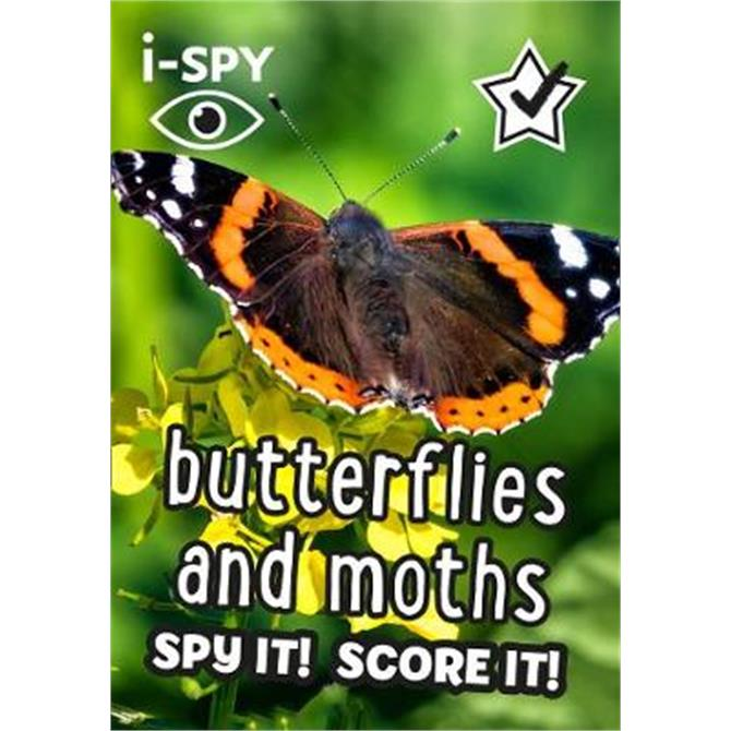 i-SPY Butterflies and Moths (Paperback)