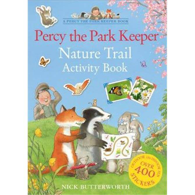 Percy the Park Keeper Nature Trail Activity Book (Paperback) - Nick Butterworth