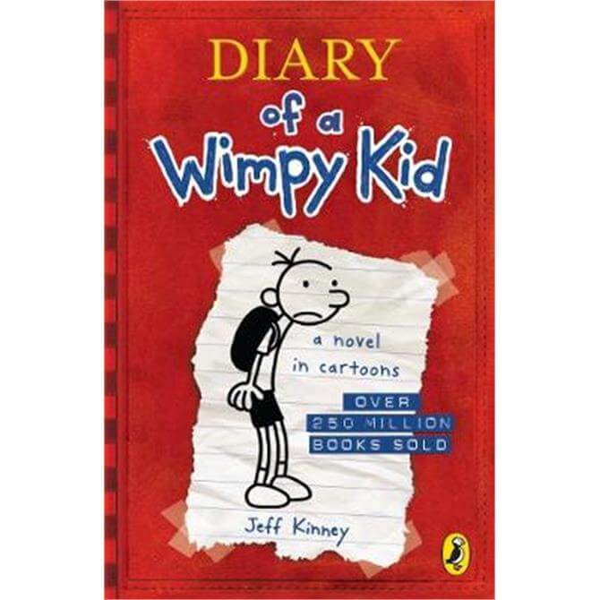 Diary Of A Wimpy Kid (Book 1) (Paperback) - Jeff Kinney