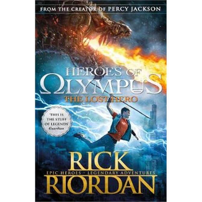 The Lost Hero (Heroes of Olympus Book 1) (Paperback) - Rick Riordan