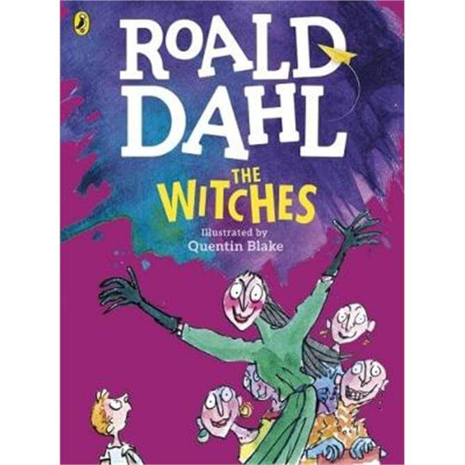 The Witches (Colour Edition) (Paperback) - Roald Dahl