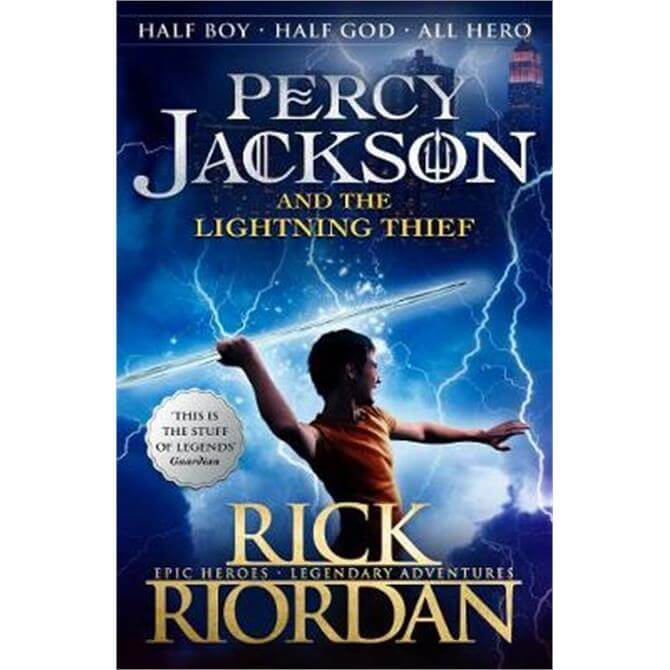 Percy Jackson and the Lightning Thief (Book 1 of Percy Jackson) (Paperback) - Rick Riordan