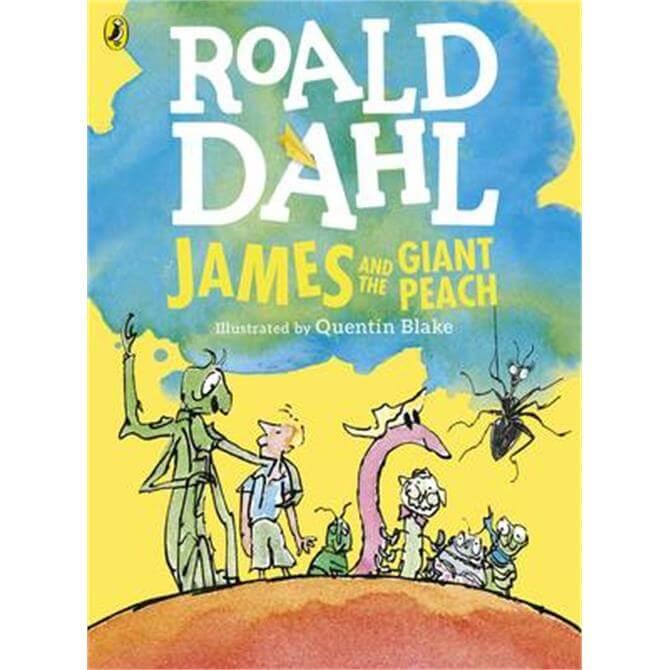 James and the Giant Peach (Colour Edition) (Paperback) - Roald Dahl