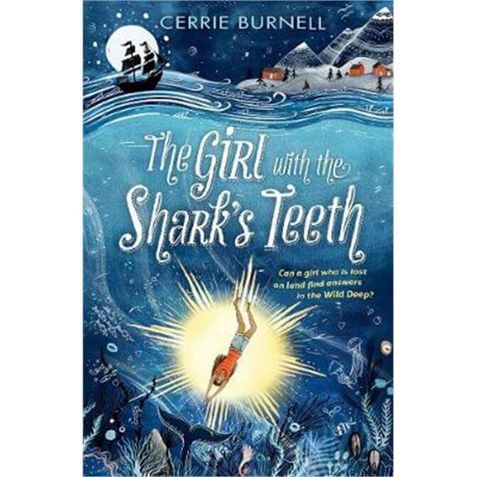 The Girl with the Shark's Teeth (Paperback) - Cerrie Burnell