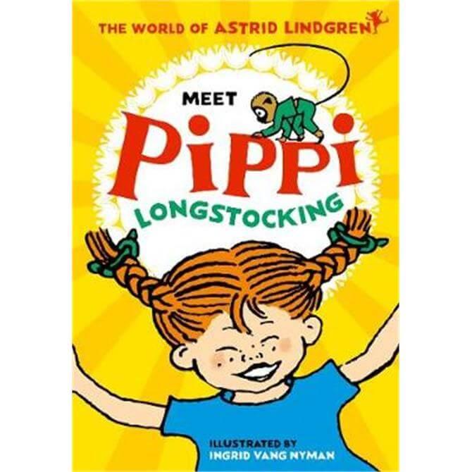 Meet Pippi Longstocking (Paperback) - Astrid Lindgren