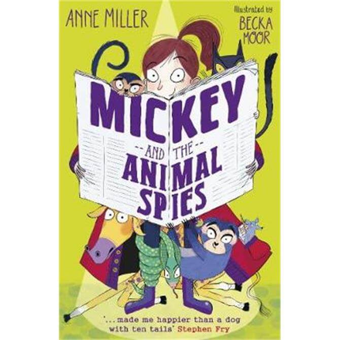 Mickey and the Animal Spies (Paperback) - Anne Miller