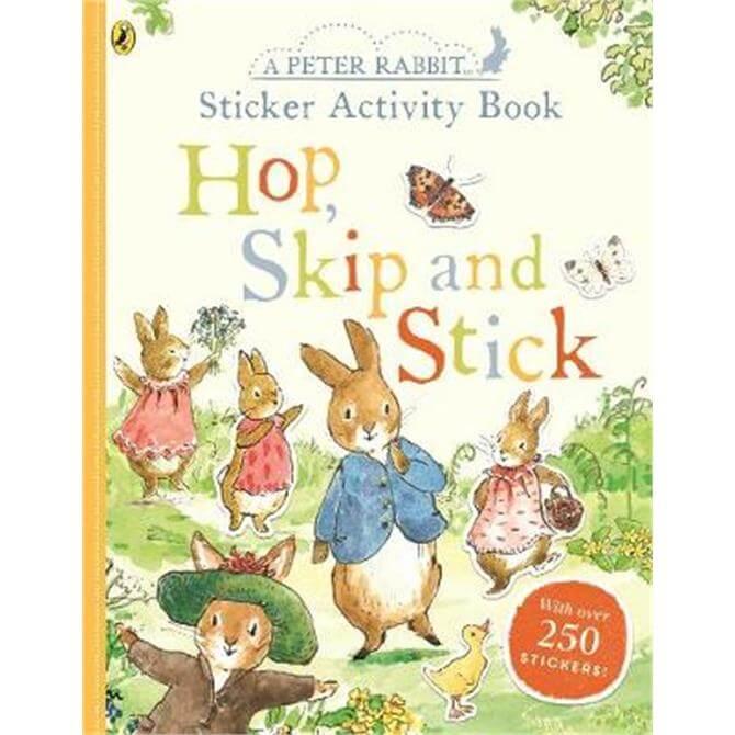Peter Rabbit Hop, Skip, Stick Sticker Activity (Paperback) - Beatrix Potter