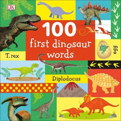 An image of 100 First Dinosaur Words