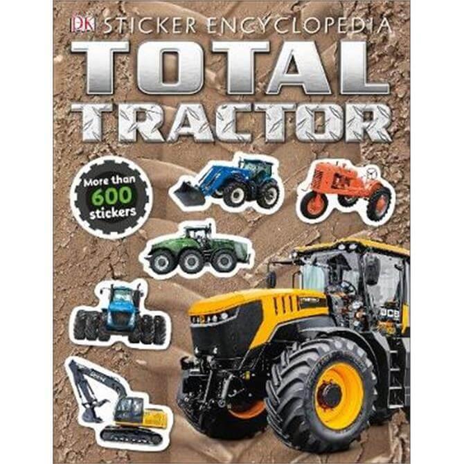 Total Tractor Sticker Encyclopedia (Paperback) - DK