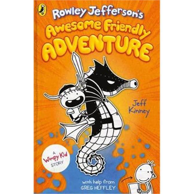 Rowley Jefferson's Awesome Friendly Adventure (Hardback) - Jeff Kinney