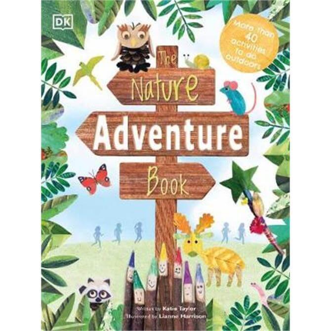 The Nature Adventure Book (Hardback) - DK