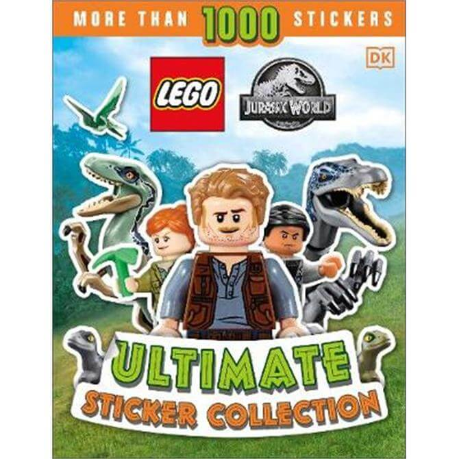 LEGO Jurassic World Ultimate Sticker Collection (Paperback) - Julia March