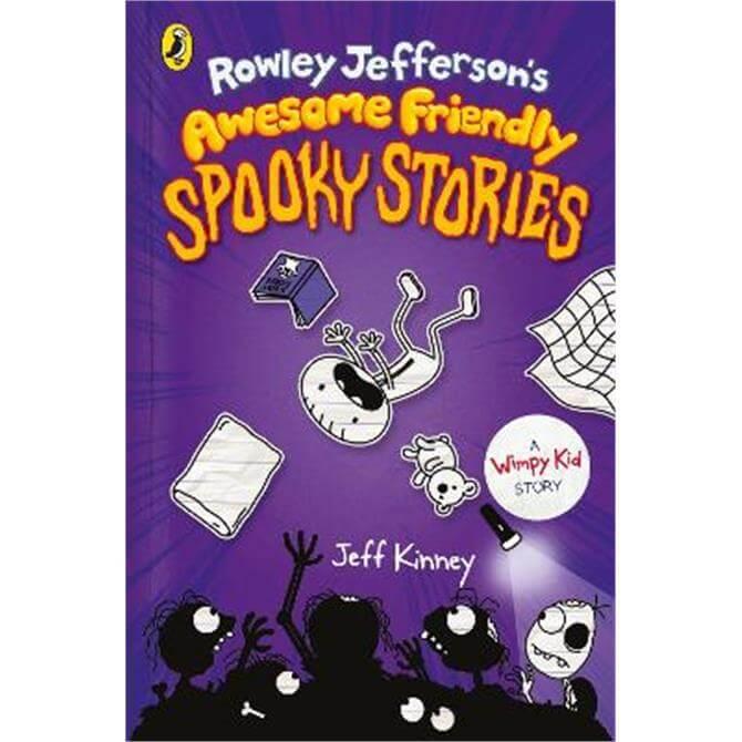 Rowley Jefferson's Awesome Friendly Spooky Stories (Hardback) - Jeff Kinney