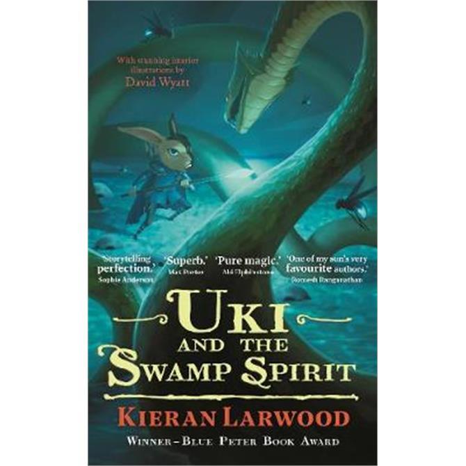 Uki and the Swamp Spirit (Hardback) - Kieran Larwood
