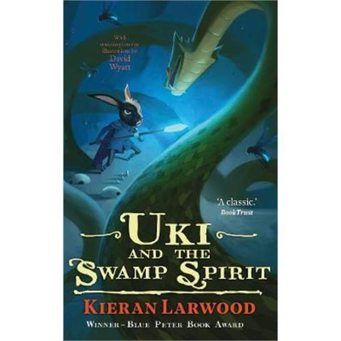 Uki and the Swamp Spirit (Paperback) - Kieran Larwood