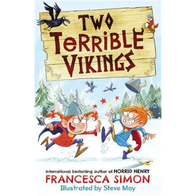 Two Terrible Vikings (Paperback) - Francesca Simon