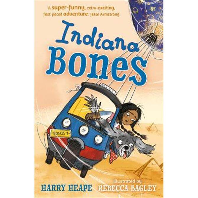 Indiana Bones (Paperback) - Harry Heape