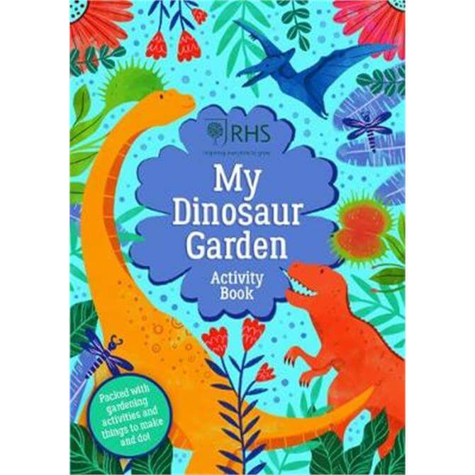 My Dinosaur Garden Activity Book (Paperback) - Emily Hibbs