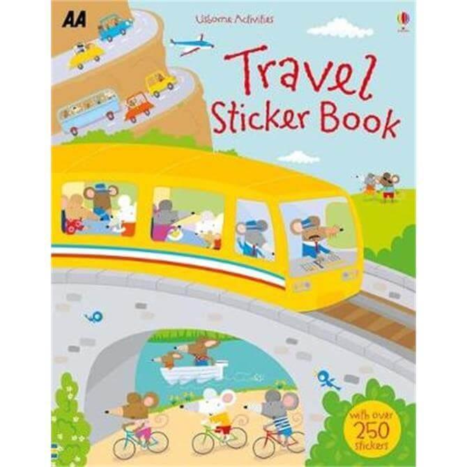 Travel Sticker Book (Paperback)