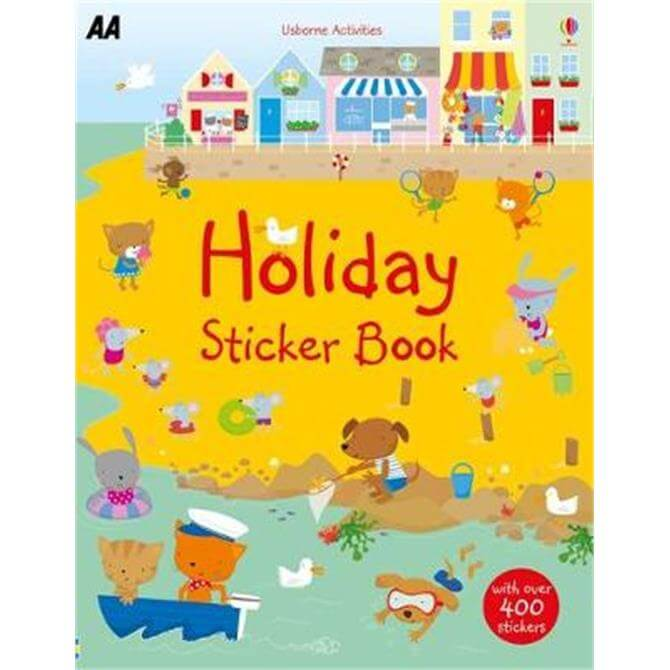 Holiday Sticker Book (Paperback)