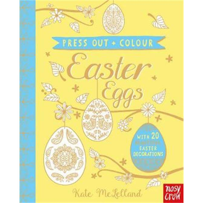 Press Out and Colour - Kate McLelland