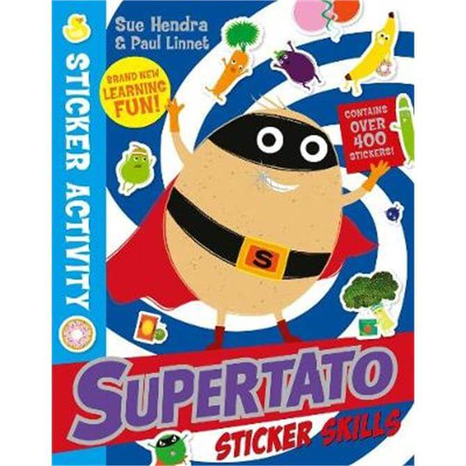 Supertato Sticker Skills (Paperback) - Paul Linnet