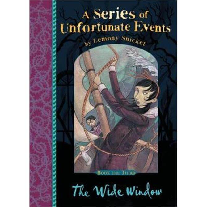 The Wide Window (A Series of Unfortunate Events) (Paperback) - Lemony Snicket