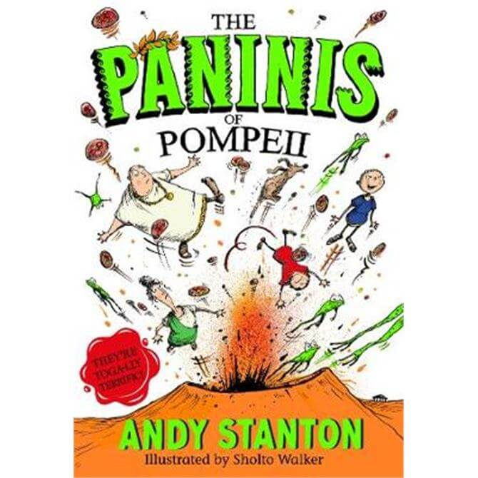 The Paninis of Pompeii (Paperback) - Andy Stanton