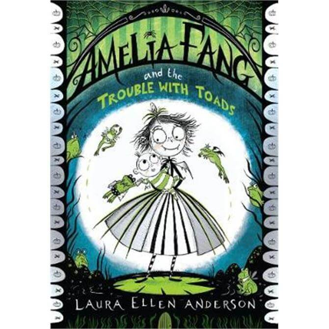 Amelia Fang and the Trouble with Toads (Paperback) - Laura Ellen Anderson