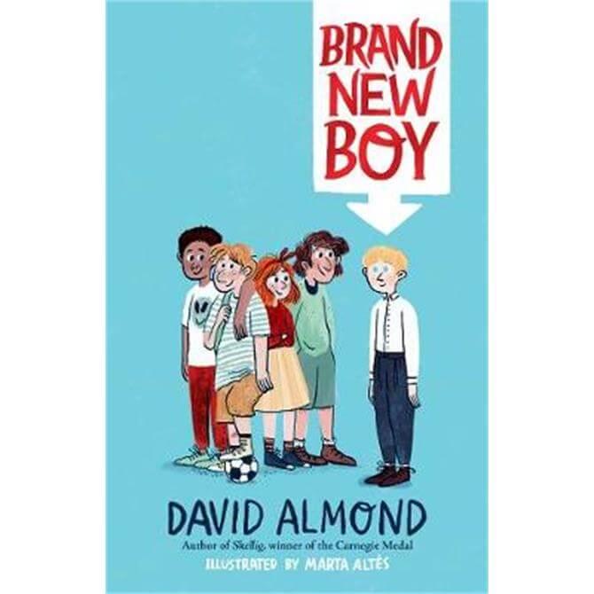 Brand New Boy (Hardback) - David Almond