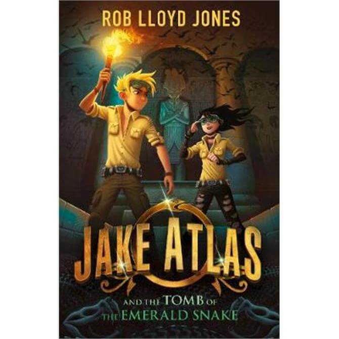Jake Atlas and the Tomb of the Emerald Snake (Paperback) - Rob Lloyd Jones