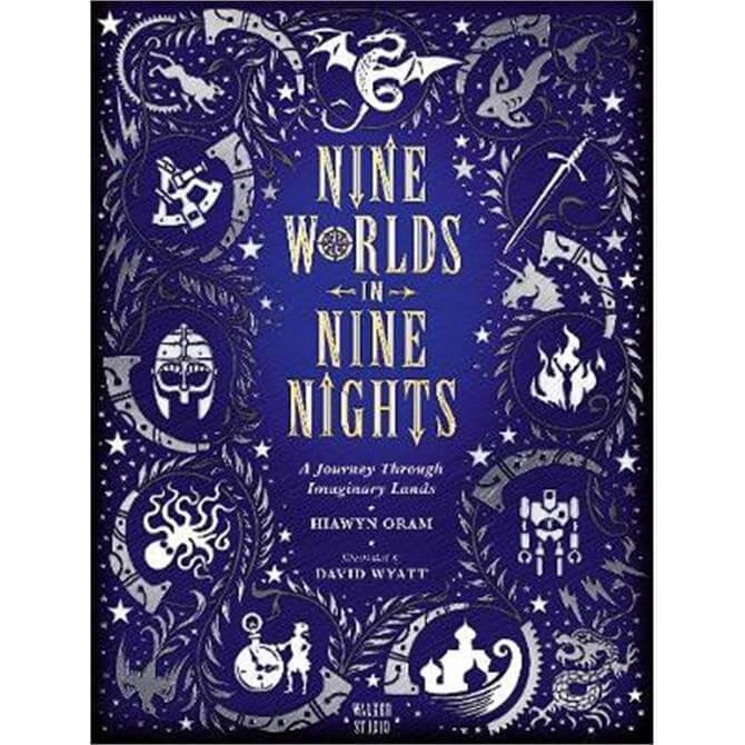 Nine Worlds in Nine Nights (Hardback) - Hiawyn Oram