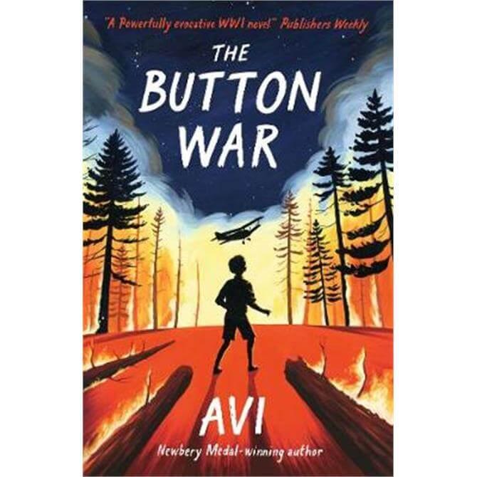 The Button War (Paperback) - Avi