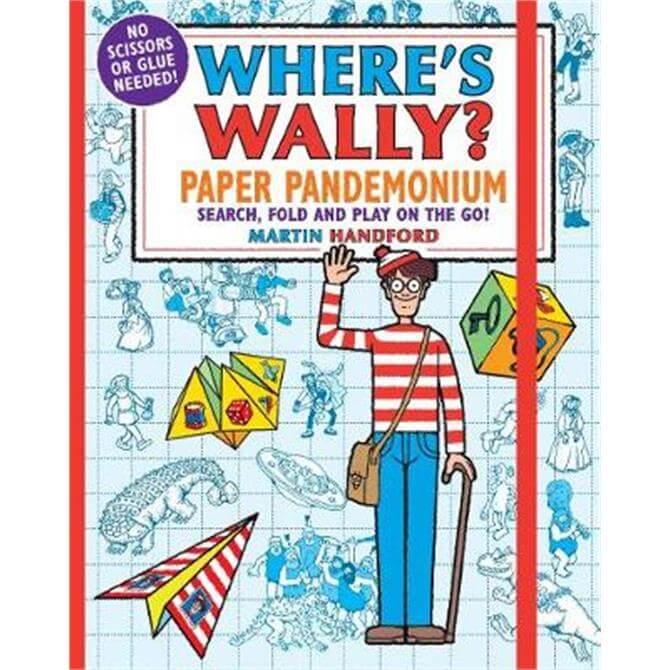 Where's Wally? Paper Pandemonium (Paperback) - Martin Handford