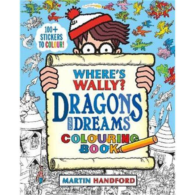 Where's Wally? Dragons and Dreams Colouring Book (Paperback) - Martin Handford