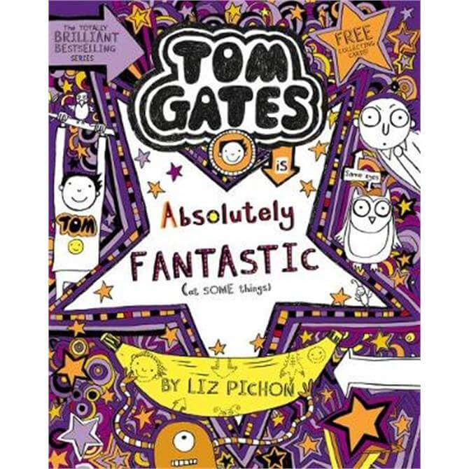 Tom Gates is Absolutely Fantastic (at some things) (Paperback) - Liz Pichon