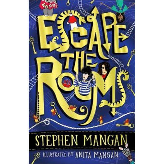 Escape the Rooms (the laugh-out-loud funny and mind-blowingly brilliant new book for kids!) (Paperback) - Anita Mangan