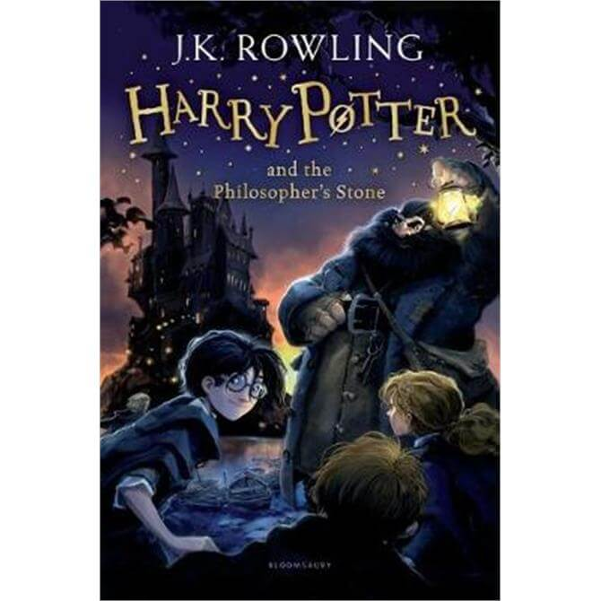 Harry Potter and the Philosopher's Stone (Paperback) - J.K. Rowling