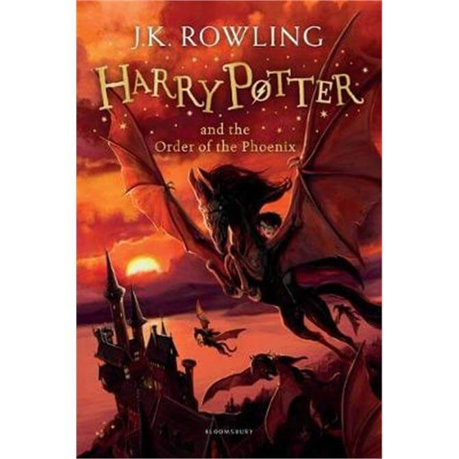 Harry Potter and the Order of the Phoenix (Paperback) - J.K. Rowling