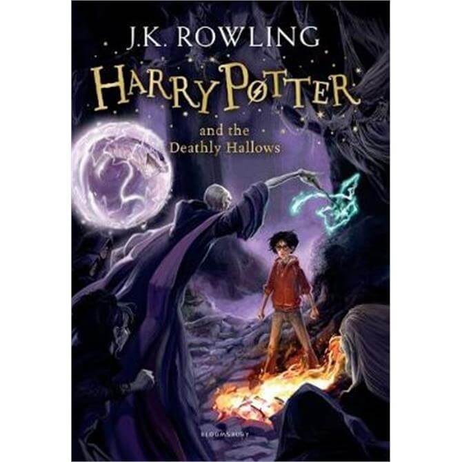 Harry Potter and the Deathly Hallows (Paperback) - J.K. Rowling