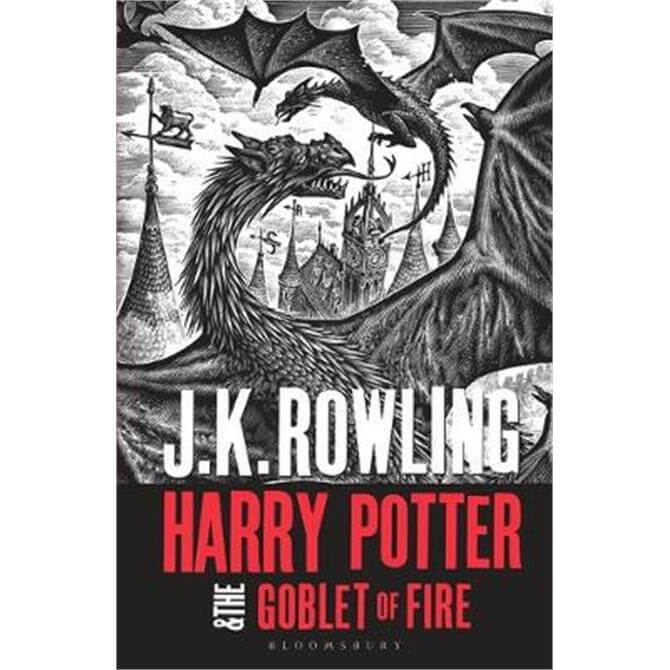 Harry Potter and the Goblet of Fire (Paperback) - J.K. Rowling