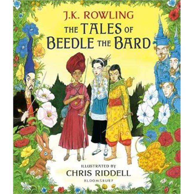 The Tales of Beedle the Bard - Illustrated Edition (Hardback) - J.K. Rowling