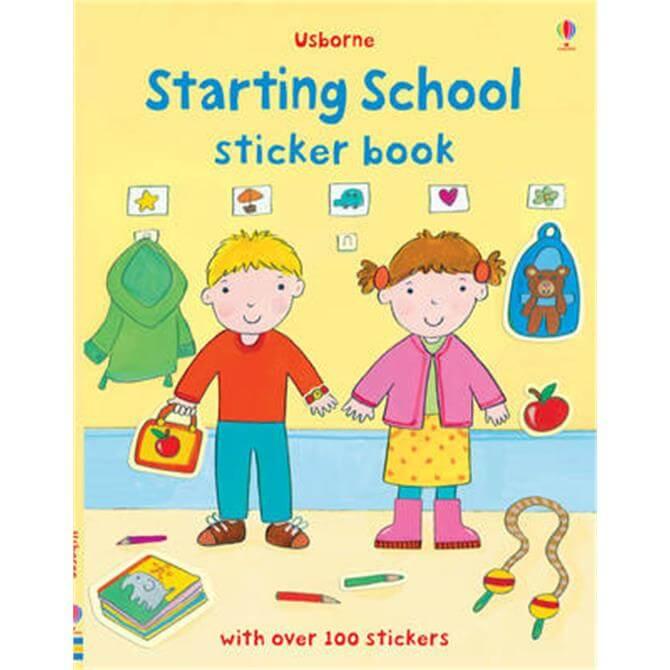 Starting School Sticker Book (Paperback) - Felicity Brooks