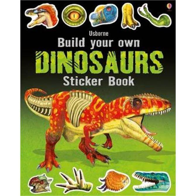Build Your Own Dinosaurs Sticker Book (Paperback) - Simon Tudhope
